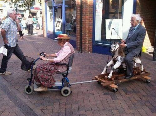 Even Old Folks Can Have Fun!